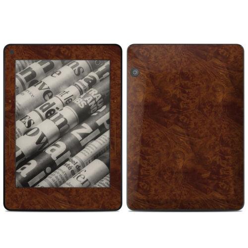 Kindle Voyage Skin Dark Burlwood Sticker Decal