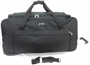 XL-Large-31-034-Travel-Luggage-Wheeled-Trolley-Holdall-Suitcase-Duffel-Bag-UK-Seller