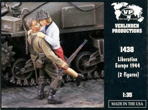 Verlinden-1-35-Liberation-Europe-1944-2-Resin-Figures-Kit-1438