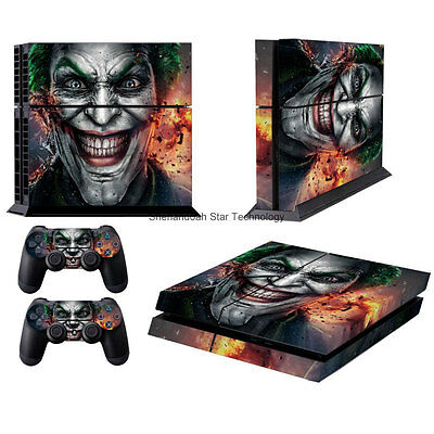 Faceplates, Decals & Stickers Video Games & Consoles Amiable Joker Skin Cover For Ps4 Playstation 4 2 Gamepad Skins Sticker Decal Ps99 Excellent Quality