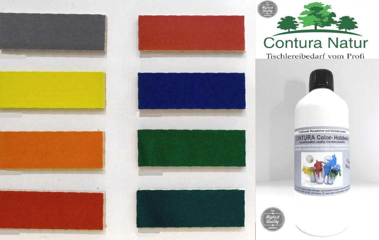 tischler holzbeize beize holz farbe 15 8 l f m bel wasserbeize holzfarbe 250ml ebay. Black Bedroom Furniture Sets. Home Design Ideas