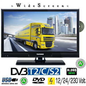 telefunken t20x740 mobil led tv 20 zoll dvb s s2 t2 c dvd. Black Bedroom Furniture Sets. Home Design Ideas