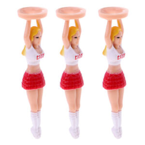 Pack-of-3-Golf-Tees-70mm-Plastic-Girl-Golf-Tees-Fun-Holder-Divot-Tools-Gift