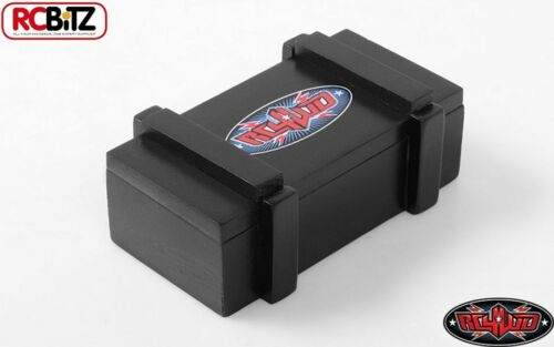 RC4WD 1//10 Wooden Shipping Case Tool Box Storage Black RC4WD Logo Z-S1612 TOY