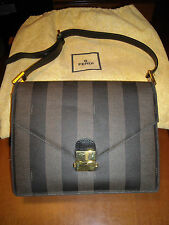 BORSA FENDI ROMA BAG ORIGINALE PEQUIN - Vintage 80's Woman - FENDI Made in Italy