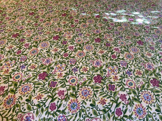 Pottery Barn 100 Full Queen Duvet Cover Amp 2 Shams Floral