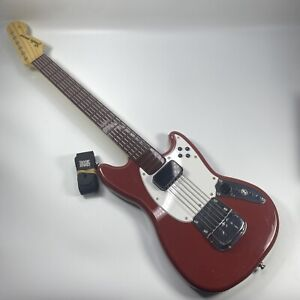 Wii RockBand 3 Fender Mustang Harmonix Wireless PRO-Guitar 96563-C(RB3) Mad Catz