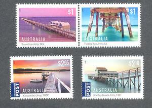 Australia-Jetties-gummed set mnh 2017