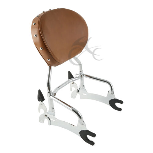 """12/"""" Sissy Bar Backrest For Indian Chief Classic Vintage 2014-18 Dark Horse 16-18"""