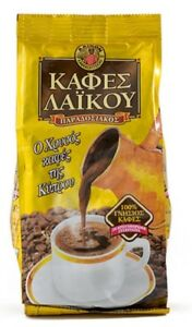 Impartial Xrisos Kafes Laikou Cyprus Traditional Coffee Laiko Golden Edition 200g Jade White Coffee Food & Beverages