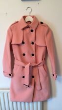 Pink Burberry Women's Coat