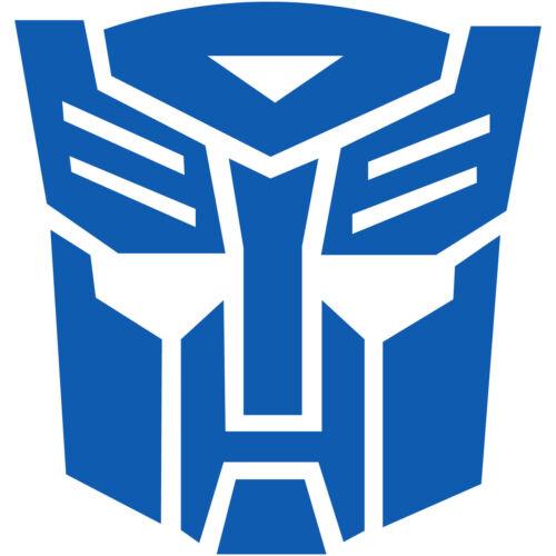 "2x Transformers Autobot Autobots Logo 2/"" Vinyl Decal Sticker Car Window Laptop"