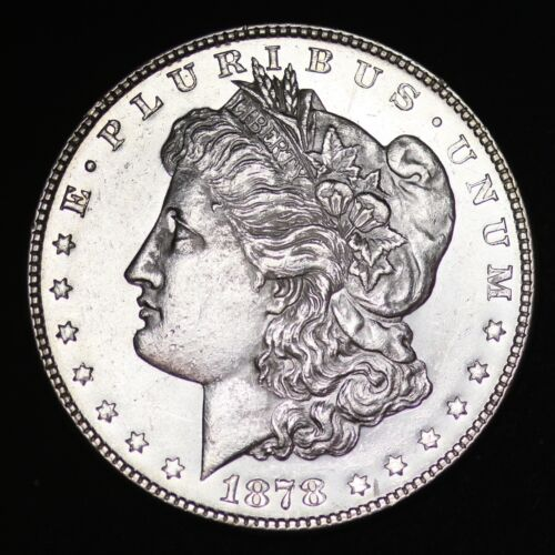 1878 7TF Morgan Dollar CHOICE BU FREE SHIPPING E371 UFT