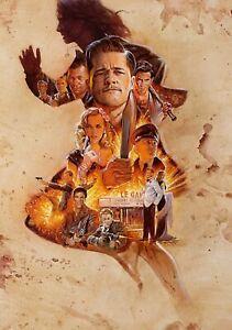 INGLOURIOUS-BASTERDS-Movie-PHOTO-Print-POSTER-Film-Textless-Art-Tarantino-018