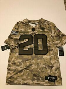 new arrival 286c9 c4357 Details about Nike Jaguars Digital Camo Salute to Service Jalen Ramsey  Jersey Large Jags NWT