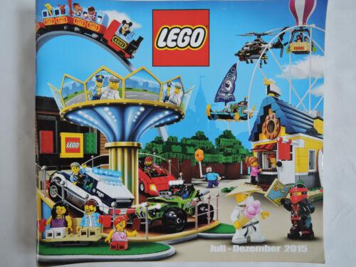 LEGO Katalog Prospekt Broschüre Werbung von 2015   2 Halbjahr  120 Seiten