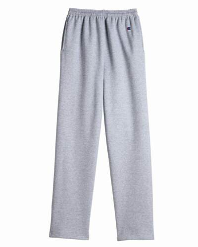 Champion Double Dry Eco Open Bottom Sweatpants with Pockets  P800