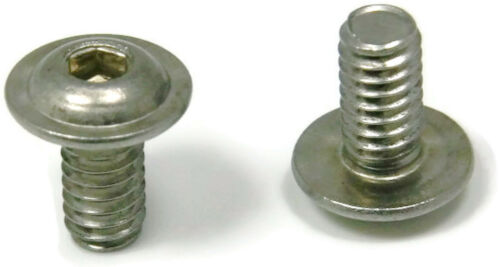 Button Flange Socket Head Cap Screw Stainless Steel 3//8-16 x 1-1//4 Qty 25