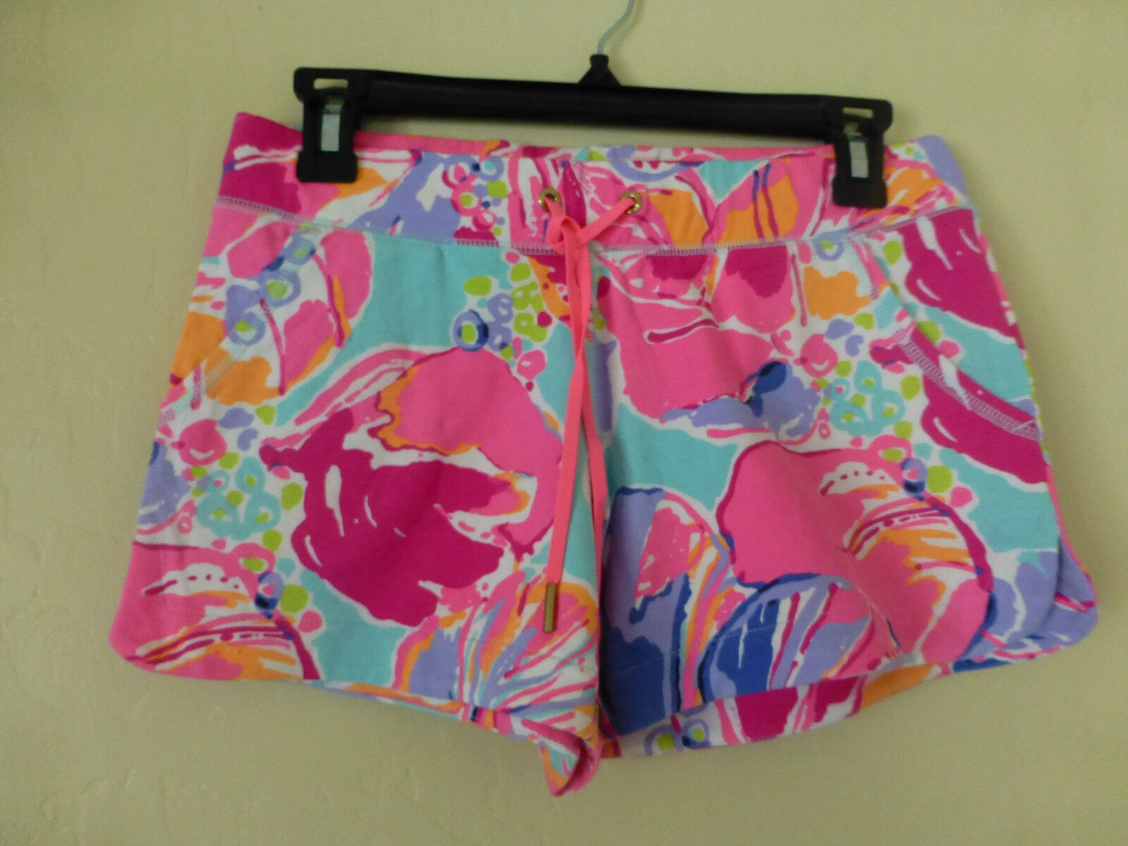 Lilly Pulitzer Vina Shorts Scalop Slides In Jam Out Size XS New