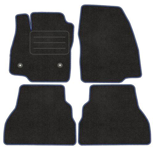 Passgenau Velour Fußmatten Satz für Ford B-Max 2012-2017 - Premium Qualität