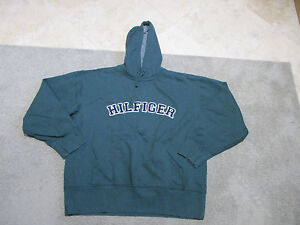 VINTAGE Tommy Hilfiger Hoodie Jacket Adult Large Hooded Sweater ...