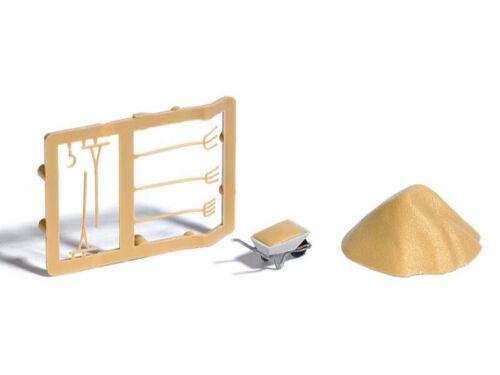 H0 Sandhaufen Schubkarren Werkzeug Busch 7787 Mini-Ausgestaltungs-Set