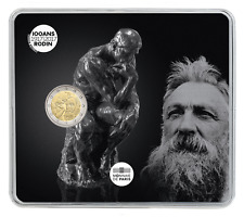 2 euro commémorative France 2017 BU – Auguste Rodin