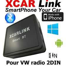 XCARLink Smart BT VW Golf,Polo,Passat,Touran,Tiguan,Jetta,Touareg...