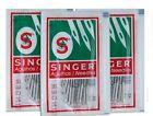 Singer Sewing Machine Needles 2020 # 14 3packs