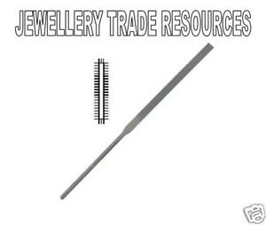 Jewellers Swiss Made Precision Flat Pillar Small Metal Needle File Cut 0 2 or 4