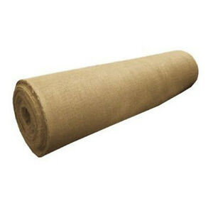 10-Yards-Burlap-Fabric-40-034-Wide-100-Natural-Jute-Heavy-Upholstery-Decorations