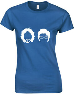 Flight-of-the-Conchords-Silhouette-Jemaine-Bret-Inspired-ladies-T-Shirt-UK-Top