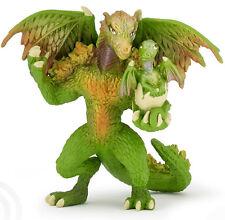 Drago Foresta Verde 12 cm Fantasy Papo 39089