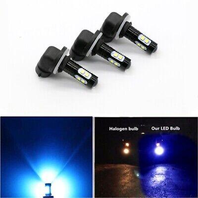 2x LED HEADLIGHT BULBS LAMP FOR POLARIS RANGER 100W 8000K ICE BLUE 2400LM