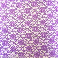 Lace Fabric By The Yard 60 Wide Fabric French Floral Fabric Purple Lace Fabric