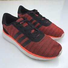 L @ @ k Adidas Neo Para Hombre Zapatillas Naranja UK 9 EU 43.5