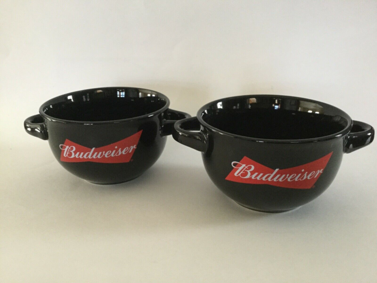 Budweiser Chili Bowl Dip set of 2 Soup