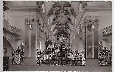 (115505) Foto Ak Amorbach I.odw., Abteikirche Inneres 1960er