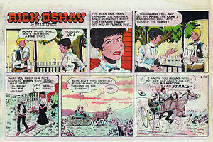 Rick-O-039-Shay-by-Stan-Lynde-half-tab-color-Sunday-comic-page-August-30-1970