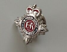 United Kingdom HM Prison Service Custody Officer Pin Badge Corrections Officer