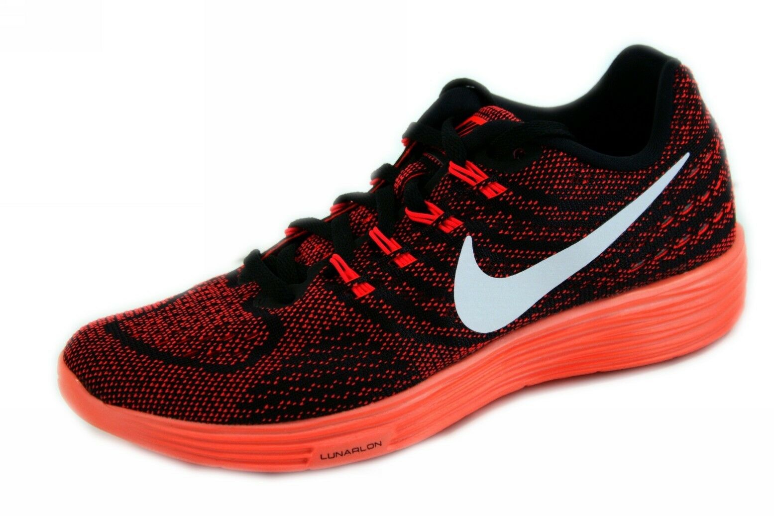 Nike Lunartempo 2 Bright Crimpson/White-Black-Bright Mango Running 818098600 8.5