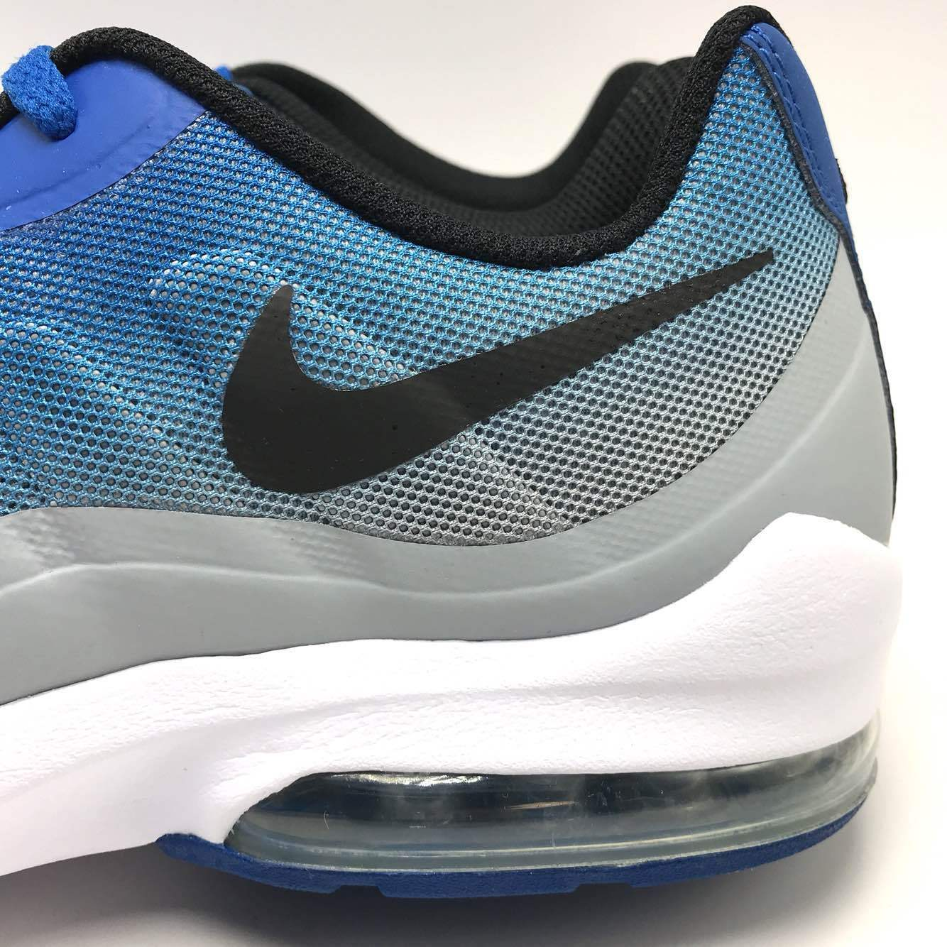 the best attitude 683db 9f95e ... Nike Air Max Invigor Print Men s Running Blue Jay Black-Wolf Grey Grey  Grey ...