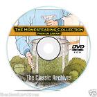 Ultimate Survival Library, Homesteading, 900+ Books, Doomsday Prep CD DVD B66
