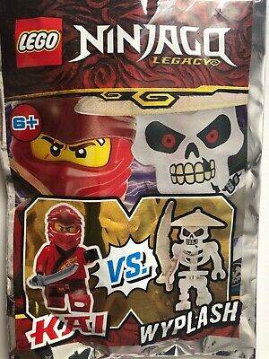 Lego Ninjago Minifigure Poly Bag Collectable Bundle Toy 30421 30422