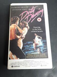 Dirty-Dancing-1987-VHS-Tapes-Vestron-Video-International-OOP
