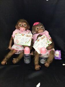 Otarddolls 20 Inch Lifelike Record Monkey Dolls