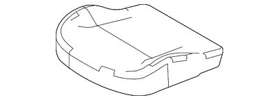 Genuine Ford Cushion Cover FG1Z-5462901-PA
