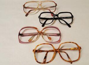 e67675d730f7 Lot 4 Vintage 80s 90s Lucite Frames Sunglasses Eyeglasses Frame ...