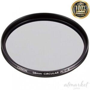 Canon-Circulaire-Polarisation-Filtre-Pl-C-B-58mm-2188B001AA-pour-Appareil-Photo