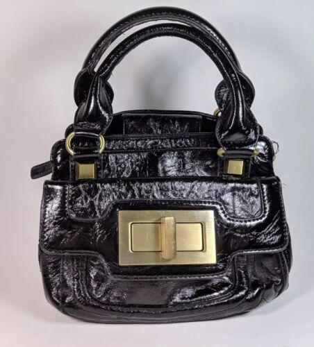 Compact Black Handbag X Dune 24cm Leather Pu 20cm nqRwtBxz8T